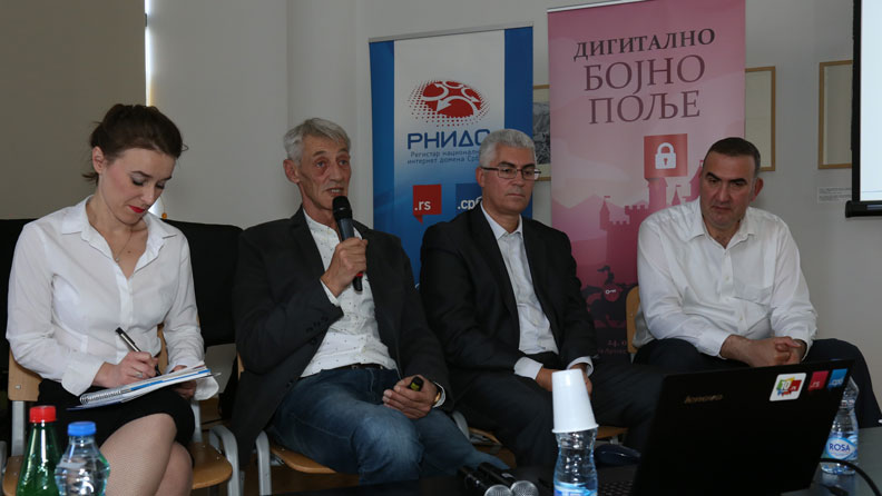 Panel discussion Digital battle field, 24.10.2019. photo: TwoTech.Solutions