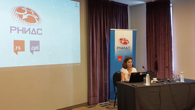 Workshop for RNIDS registrars about the Law on personal data protection,  Falkensteiner hotel, 30.07.2019. photo RNIDS